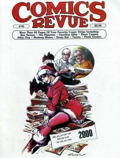 Cover for Comics Revue (Manuscript Press, 1985 series) #166
