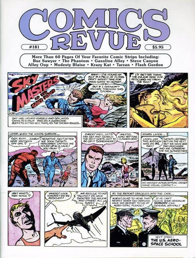 Cover for Comics Revue (Manuscript Press, 1985 series) #181