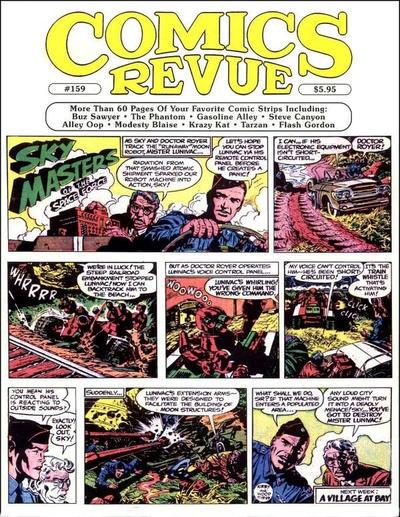 Cover for Comics Revue (Manuscript Press, 1985 series) #159