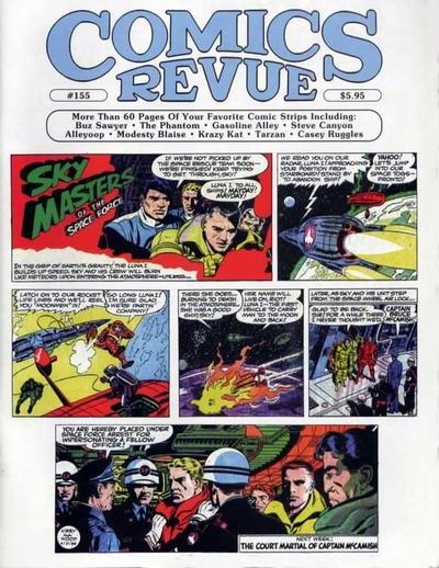 Cover for Comics Revue (Manuscript Press, 1985 series) #155
