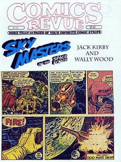 Cover for Comics Revue (Manuscript Press, 1985 series) #130