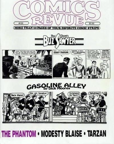 Cover for Comics Revue (Manuscript Press, 1985 series) #122