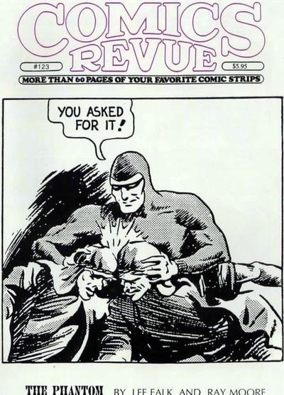 Cover for Comics Revue (Manuscript Press, 1985 series) #123