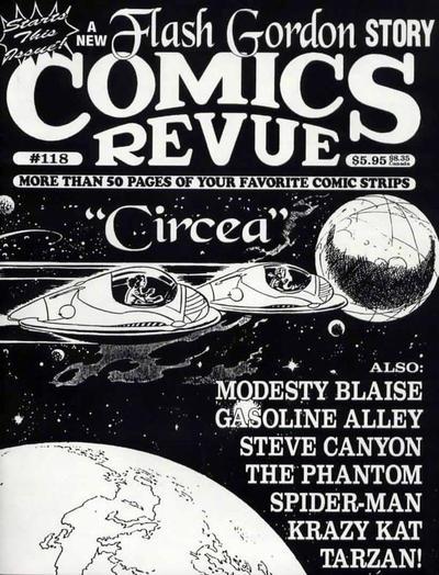 Cover for Comics Revue (Manuscript Press, 1985 series) #118