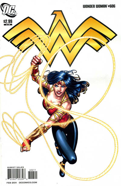 Cover for Wonder Woman (DC, 2006 series) #606