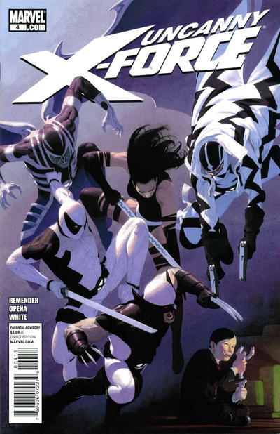 Cover for Uncanny X-Force (Marvel, 2010 series) #4