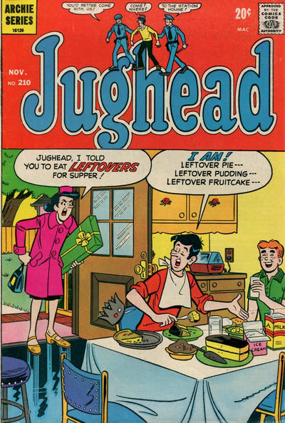 Cover for Jughead (Archie, 1965 series) #210