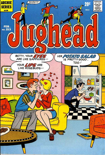 Cover for Jughead (Archie, 1965 series) #213