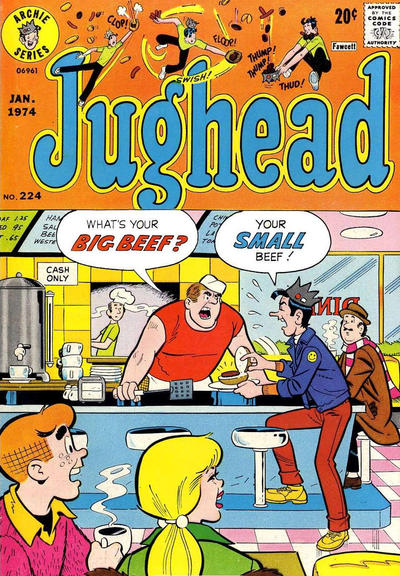 Cover for Jughead (Archie, 1965 series) #224