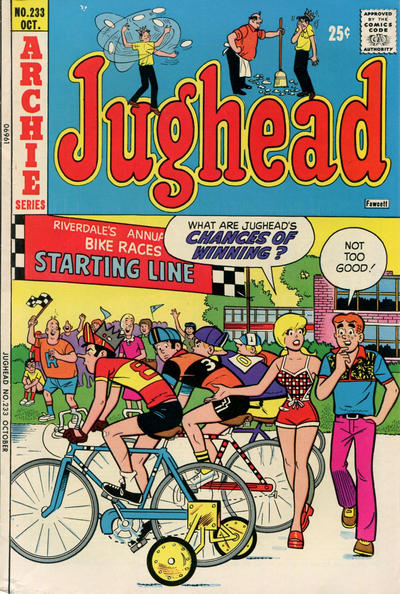 Cover for Jughead (Archie, 1965 series) #233