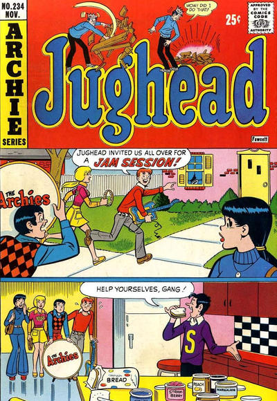 Cover for Jughead (Archie, 1965 series) #234