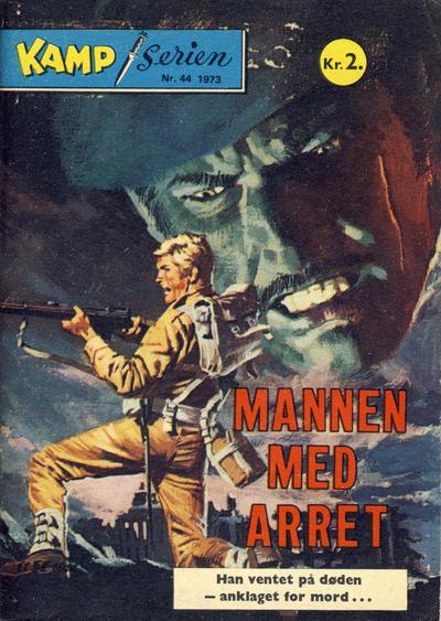 Cover for Kamp-serien (Serieforlaget / Se-Bladene / Stabenfeldt, 1964 series) #44/1973