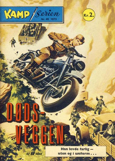 Cover for Kamp-serien (Serieforlaget / Se-Bladene / Stabenfeldt, 1964 series) #45/1973