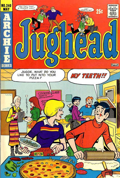 Cover for Jughead (Archie, 1965 series) #240