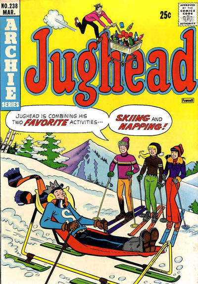 Cover for Jughead (Archie, 1965 series) #238
