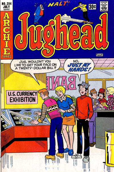 Cover for Jughead (Archie, 1965 series) #254