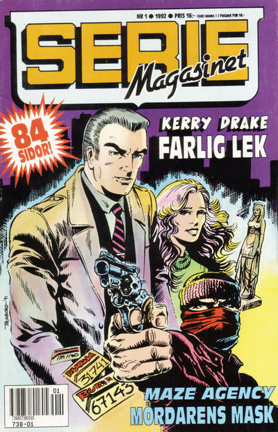 Cover for Seriemagasinet (Semic, 1970 series) #1/1992
