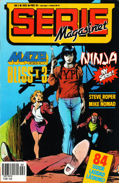 Cover for Seriemagasinet (Semic, 1970 series) #2/1992