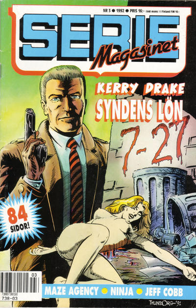 Cover for Seriemagasinet (Semic, 1970 series) #3/1992
