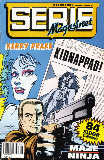 Cover for Seriemagasinet (Semic, 1970 series) #4/1992