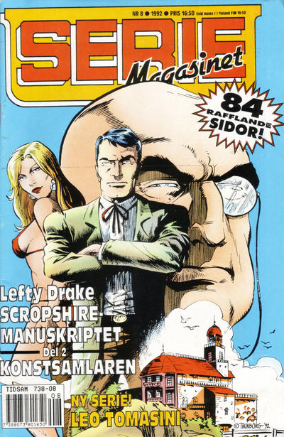 Cover for Seriemagasinet (Semic, 1970 series) #8/1992