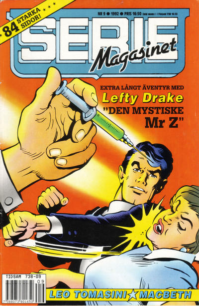 Cover for Seriemagasinet (Semic, 1970 series) #9/1992