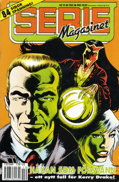 Cover for Seriemagasinet (Semic, 1970 series) #10/1992