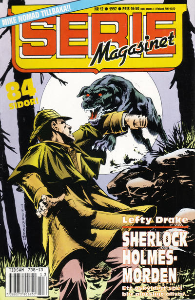 Cover for Seriemagasinet (Semic, 1970 series) #12/1992
