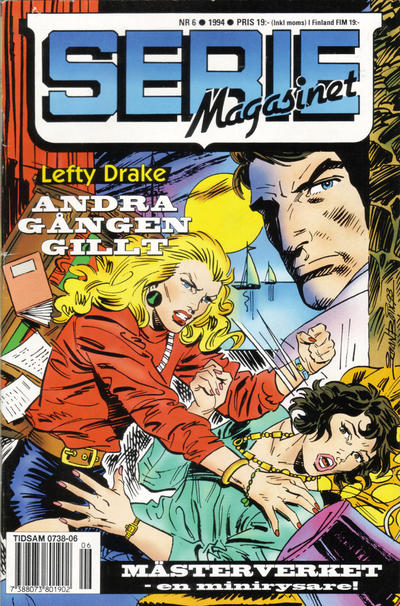 Cover for Seriemagasinet (Semic, 1970 series) #6/1994