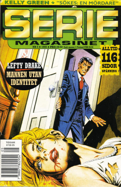 Cover for Seriemagasinet (Semic, 1970 series) #5/1995