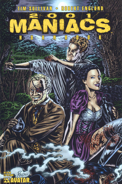 Cover for 2001 Maniacs Hornbook (Avatar Press, 2007 series)  [Gore Variant Cover]
