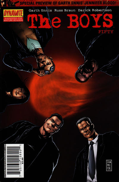 Cover for The Boys (Dynamite Entertainment, 2007 series) #50