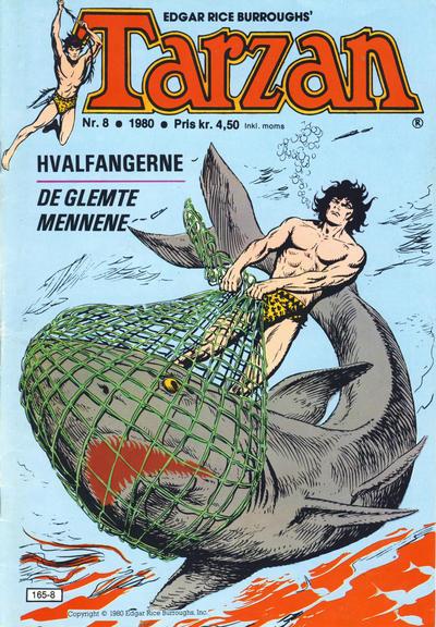 Cover for Tarzan (Atlantic Forlag, 1977 series) #8/1980