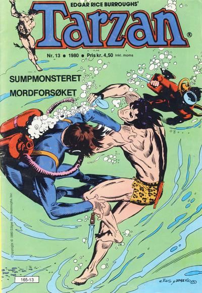 Cover for Tarzan (Atlantic Forlag, 1977 series) #13/1980