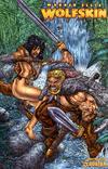 Cover Thumbnail for Warren Ellis' Wolfskin Annual (2008 series) #1 [Wraparound Cover]