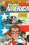 Cover for Team America (Marvel, 1982 series) #5 [Newsstand]