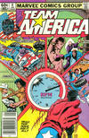 Cover for Team America (Marvel, 1982 series) #8 [Newsstand]