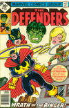 Cover for The Defenders (Marvel, 1972 series) #51 [Whitman]