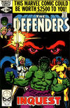 Cover for The Defenders (Marvel, 1972 series) #87 [Direct]