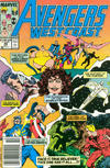 Cover for Avengers West Coast (Marvel, 1989 series) #49 [Newsstand]