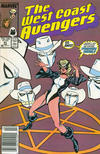 Cover Thumbnail for West Coast Avengers (1985 series) #41 [Newsstand Edition]