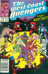 Cover Thumbnail for West Coast Avengers (1985 series) #40 [Newsstand Edition]
