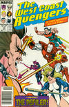 Cover Thumbnail for West Coast Avengers (1985 series) #38 [Newsstand Edition]