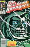 Cover Thumbnail for West Coast Avengers (1985 series) #35 [Newsstand Edition]