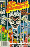 Cover Thumbnail for West Coast Avengers (1985 series) #34 [Newsstand]