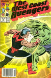 Cover Thumbnail for West Coast Avengers (1985 series) #25 [Newsstand Edition]
