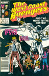Cover for West Coast Avengers (Marvel, 1985 series) #21 [Newsstand Edition]