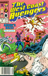 Cover Thumbnail for West Coast Avengers (1985 series) #31 [Newsstand Edition]
