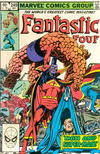Cover for Fantastic Four (Marvel, 1961 series) #249 [Direct]