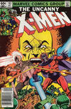 Cover for The Uncanny X-Men (Marvel, 1981 series) #161 [Newsstand]